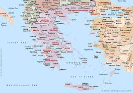 greece map political map of greece