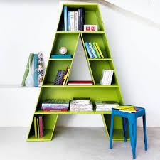 children bookshelves spectacular idea children s shelves interesting design letter a
