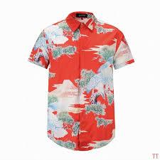 gucci printed silk dress shirt men fashion polo shirts gucci
