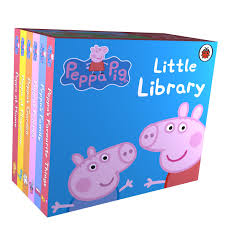 peppa pig library ladybird 9781409303183 amazon books