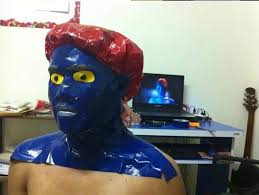 Mystique Halloween Costume Cheap Cosplay Guy Creates Cost Costumes Household