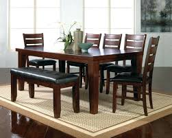 Dining Room Bench Seat Dining Room Set With Bench Dining Room Tables With Bench Awesome