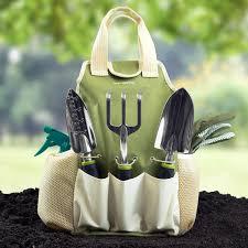 Gardening Tools by Vremi 9 Piece Garden Tools Set With 6 Ergonomic Gardening Tools