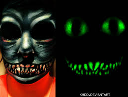 glow in the makeup glow in the cheshire cat makeup by khdd on deviantart
