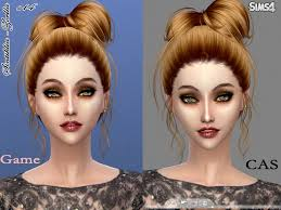custom hair for sims 4 sintikliasims sintiklia hair s14 zoella
