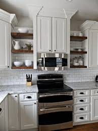No Door Kitchen Cabinets Coffee Table Kitchen Shelves Instead Cabinets Paint Color Large