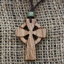 wooden celtic cross jewellery at fretmajic celtic wooden jewellery