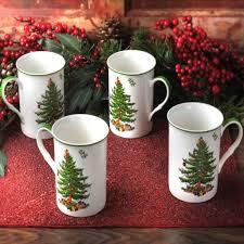 spode tree gift boxed set of 4 mugs house of portmeirion