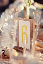 Wedding Table Numbers Ideas Wooden Wedding Table Number Ideas
