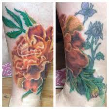 my marigold tattoo cool tattoos pinterest marigold tattoo