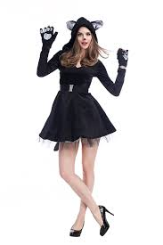 images of cat halloween costumes for women black womens cat