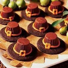pilgrim hat cookies from pillsbury baking thanksgiving
