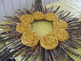 yellow mums sunshine wreath