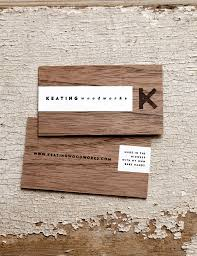 Pintrest Wood by Keating Woodworks Wood Business Card Creativeideas Today