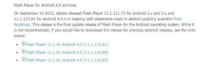 flash player 11 1 apk how to install flash player on android 5 0 lollipop smarter