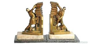 unique bookends for sale antique bookends silver pewter brass copper chrome other antique