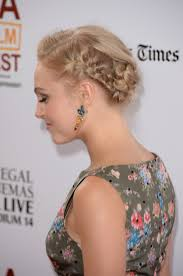 oklahoma hair stylists and updos get the look annasophia robb s romantic braided updo ok magazine