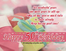 happy 50th birthday wishes easyday