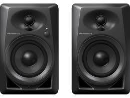black friday studio monitors dm 40 4 inch compact active monitor speaker black pioneer dj