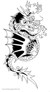 dragon color coloring pages kids fantasy u0026 medieval