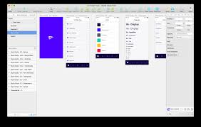 a step by step guide for starting a new app design project in sketch