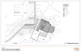 building site plan contribute now glen arbor art association