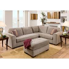 Home Furniture Sofa Furniture Of America Parker 2 Piece Fabric Sectional Sofa Gray
