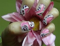 18 leopard print nail designs