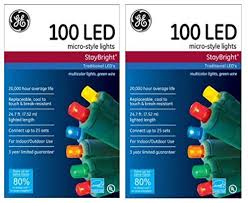 staybright micro style led lights multi color 100