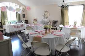 pink and gray baby shower pink and white baby shower decorations my web value