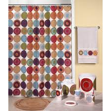 Modern Bathroom Accessories Uk by Bathroom Colorful Pattern Shower Curtains With Extra Long Shower