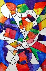 the smartteacher resource overlapping shape paintings