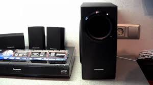 home theater panasonic panasonic sc btt350 youtube