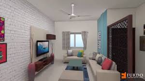 3bhk independant home furdo interior design 3d walk through