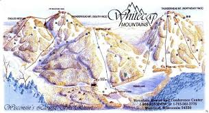 Wisconsin mountains images The whitecap mountains trail map liftopia