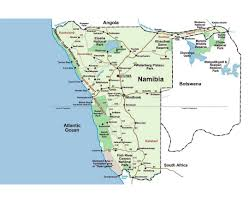 Africa Map Games by Maps Of Namibia Detailed Map Of Namibia In English Tourist Map
