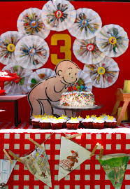 Curious George Centerpieces by Kara U0027s Party Ideas Curious George Themed Birthday Party
