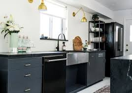 black and white kitchen cabinets designs the 7 best kitchen cabinet paint colors