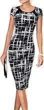 lunajany women u0027s summer casual black striped print wear to work