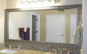 bathroom frameless mirrors frameless bathroom mirrors