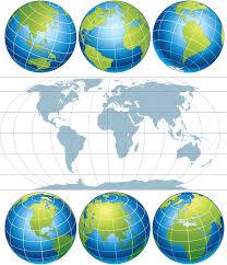 Vector World Map Earth Map Vector Free Vector 4vector