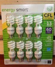 ge energy smart cfl light bulbs 13 watt 60w equivalent 120v fluorescent tube light bulbs ebay