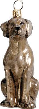 weimaraner ornament