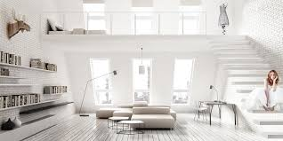 all white home interiors furniture white living room decoration with white wall mounted