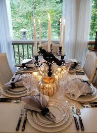 Elegant Table Settings 20 Halloween Inspired Table Settings To Wow Your Dinner Party Guests