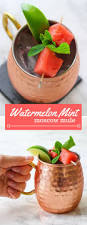 watermelon mint moscow mule recipe watermelon mint cocktail