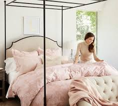 Canopy Bedding Aberdeen Canopy Bed Pottery Barn