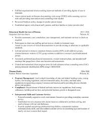 Sample Msw Resume by Resume Msw