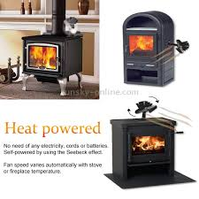 wood burning stove circulating fan sunsky liank sf 112 eco friendly heat powered stove fan for wood