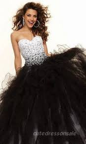 black and white quinceanera dresses a black white affair themed xv quinceanera
